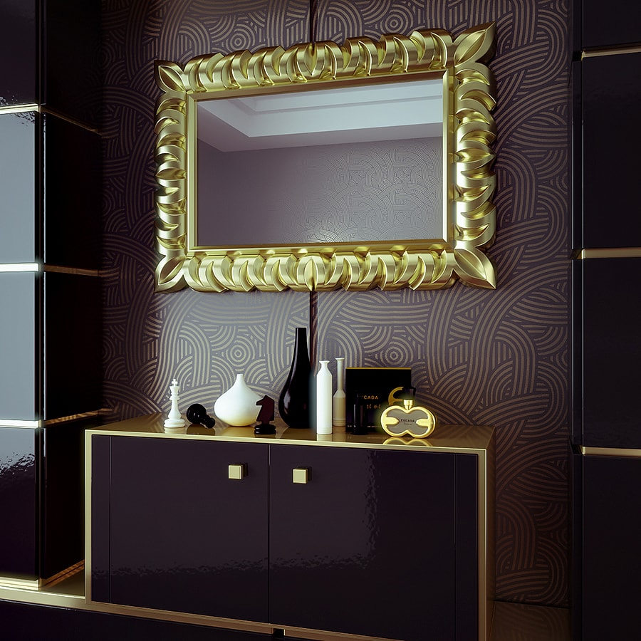 3D Render of a Mirror