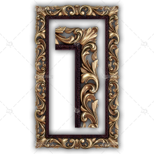 Frame for a Mirror 007