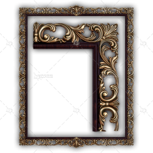 Frame for a Mirror 039
