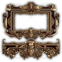 Frame for a Mirror 045
