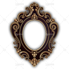 Frame for a Mirror 051