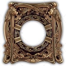 Frame for a Mirror 052