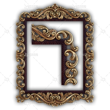 Frame for a Mirror 064