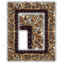 Frame for a Mirror 074